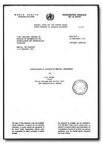 World Health Organization : Regional Off... by J. W. Wright
