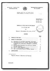 World Health Organization : Regional Off... by Charles J. Ross-Smith