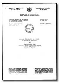 World Health Organization : Regional Off... by Professor P. Cazal