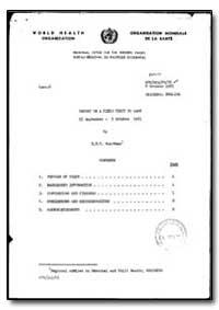 World Health Organization : Regional Off... by H. M. C. Poortman, Dr.