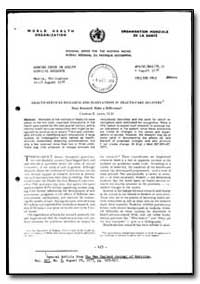 World Health Organization : Regional Off... by Charles E. Lewis