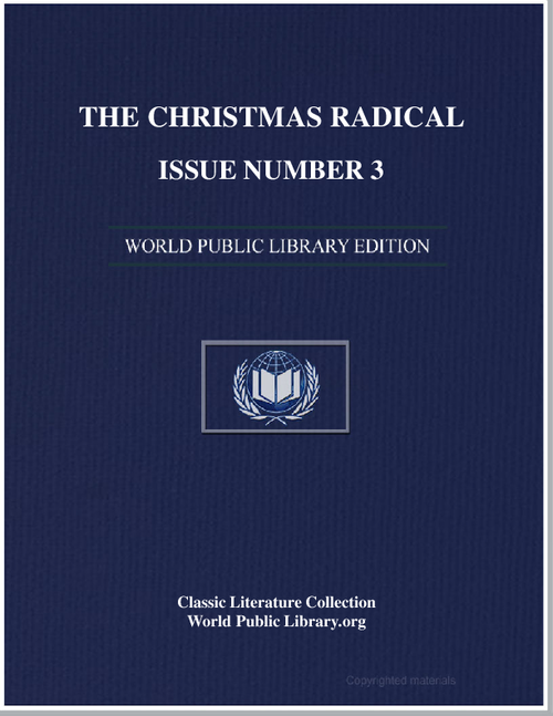The Chrisitian Radical 1.03 Volume 1, Article 3 by New Hope Cw Farm