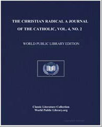 The Chrisitian Radical 4.03 : Volume 4,A... by New Hope Cw Farm