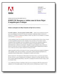 Fortune Reconoce a Adobe Como la Sexta M... by Adobe Systems