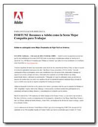 Fortune Reconoce a Adobe Como la Sexta M... by Adobe Systems