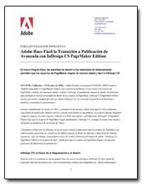 Adobe Hace Facil la Transicion a Publica... by Adobe Systems