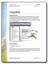 Adobe Acrobat 5. 0 : Using Help by Adobe Systems