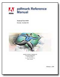 Pdfmark Reference Manual by Adobe Systems