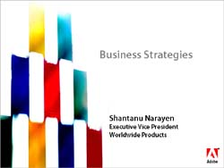 Business Strategies by Adobe Systems