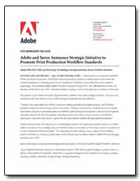 Adobe and Xerox Announce Strategic Initi... by Adobe Systems
