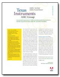 Texas Instruments Asic Group : Documenta... by Adobe Systems