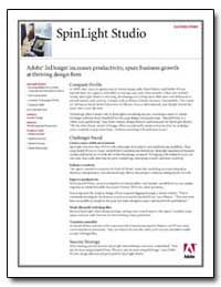 Adobe Indesign Increases Productivity, S... by Adobe Systems