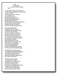 Christabel by Coleridge, Samuel Taylor