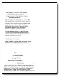 The Business Man by Poe, Edgar Allan