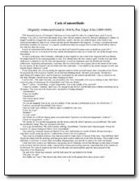 The Cask of Amontillado by Poe, Edgar Allan