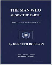 The Man Who Shook the Earth by Stephens, Tom