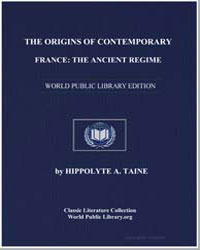 The Origins of Contemporary France : The... by Taine, Hippolyte A.