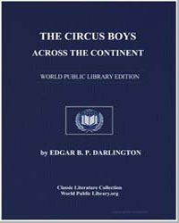 The Circus Boys Across the Continent, Or... by Darlington, Edgar B. P.