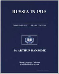 Russia in 1919 by Ransome, Arthur