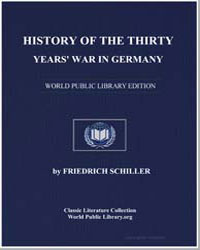 History of the Thirty Years' War in Germ... by Von Schiller, Johann Christoph Friedrich (Friedric...