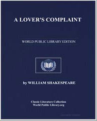 A Lover's Complaint by Shakespeare, William