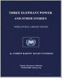 Three Elephant Power and Other Stories by Paterson, Andrew Barton