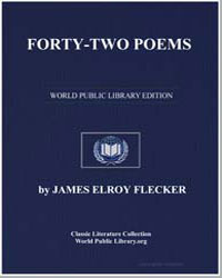 Fortytwo Poems by Flecker, James Elroy