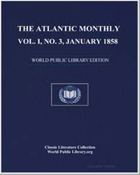 The Atlantic Monthly, Volume I., No. 3, ... by Hutchinson, Joshua