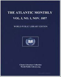 The Atlantic Monthly, Volume I, No. 1, N... by Hutchinson, Joshua