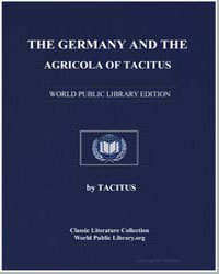 The Germany and the Agricola of Tacitus by Tacitus, Publius Cornelius Gaiu