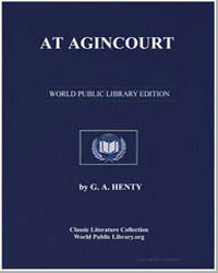 At Agincourt by Henty, George Alfred