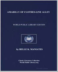 Amarilly of Clothesline Alley by Maniates, Belle Kanaris