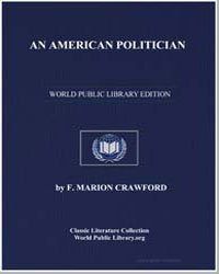 An American Politician by Crawford, Francis Marion