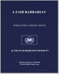 A Fair Barbarian by Burnett, Frances Hodgson