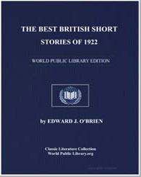 The Best British Short Stories of 1922 by Obrien, Edward J.