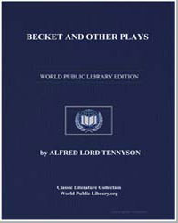 Becket and Other Plays by Tennyson, Alfred, 1St Baron Tennyson, Lord