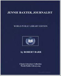 Jennie Baxter, Journalist by Barr, Robert
