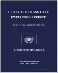 Cliff Castles and Cave Dwellings of Euro... by Baring-Gould, Sabine