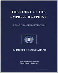 The Court of the Empress Josephine by De Saint-Amand, Imbert