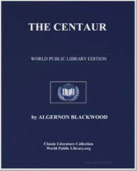 The Centaur by Blackwood, Algernon Henry