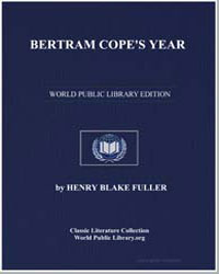 Bertram Cope's Year by Fuller, Henry Blake