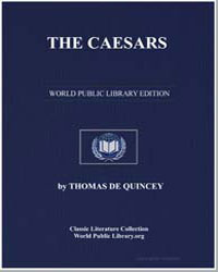 The Caesars : And the Avenger by De Quincey, Thomas