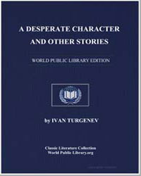 A Desperate Character and Other Stories by Turgenev, Ivan