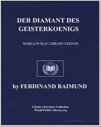 Der Diamant des Geisterkoenigs by Raimund, Ferdinand