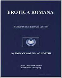 Erotica Romana by Von Goethe, Johann Wolfgang