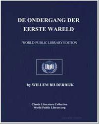 De Ondergang der Eerste Wareld by Bilderdijk, Willem