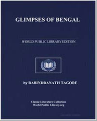 Glimpses of Bengal by Tagore, Rabindranath, Sir
