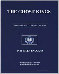 The Ghost Kings by Haggard, Henry Rider