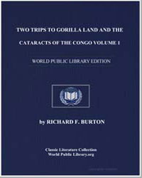 Two Trips to Gorilla Land and the Catara... by Burton, Richard Francis, Sir
