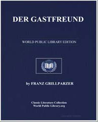Der Gastfreund by Grillparzer, Franz